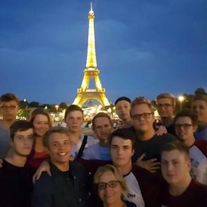 Parisfahrt 2016 der GYM 3