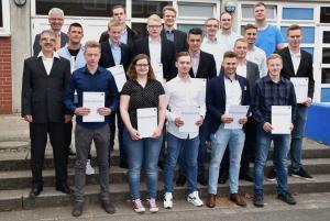 Fachoberschule Klasse 12B Metalltechnik, Klassenleitung Herr Stangenberg