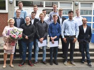 Zweijährige BFS2C, Metalltechnik, Klassenleitung Frau Lutzmann